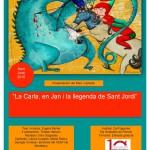 La Carla el Jan i la llegenda de Sant Jordi Hostalets 2016final