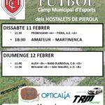 futbol 11-12 febrer